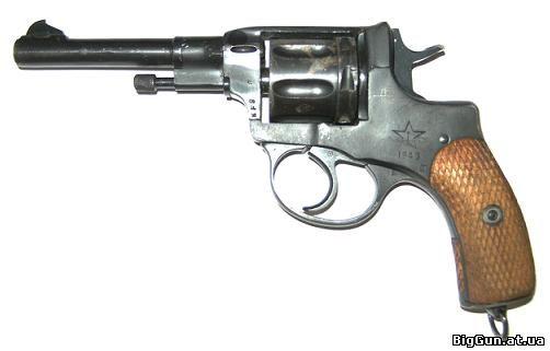 Револьвер Наган (вид слева)